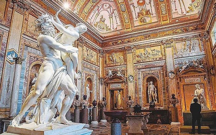 Скульптура Похищение Прозерпины