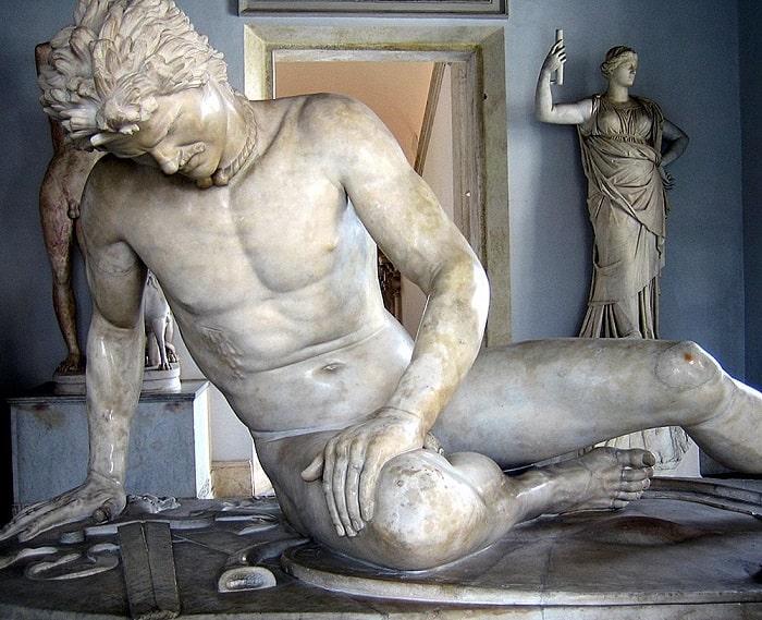 Скульптура Умирающий галл