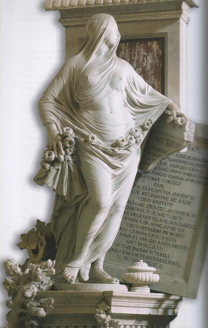 Статуя Целомудрие