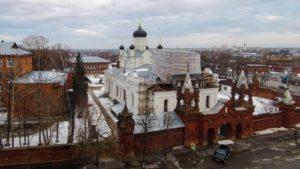 Свято-Троицкий Мариинский женский монастырь егорьевск