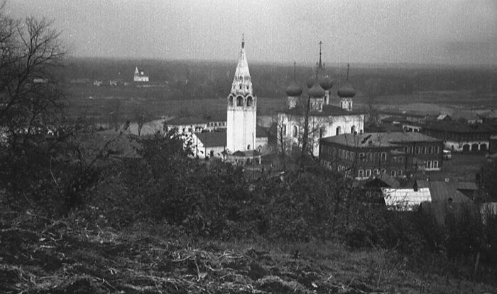 Вид на Гороховец на старых фото