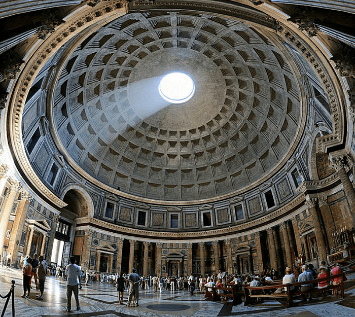 Внутренний вид Пантеона
