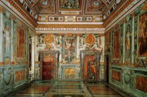 Внутренний зал музея