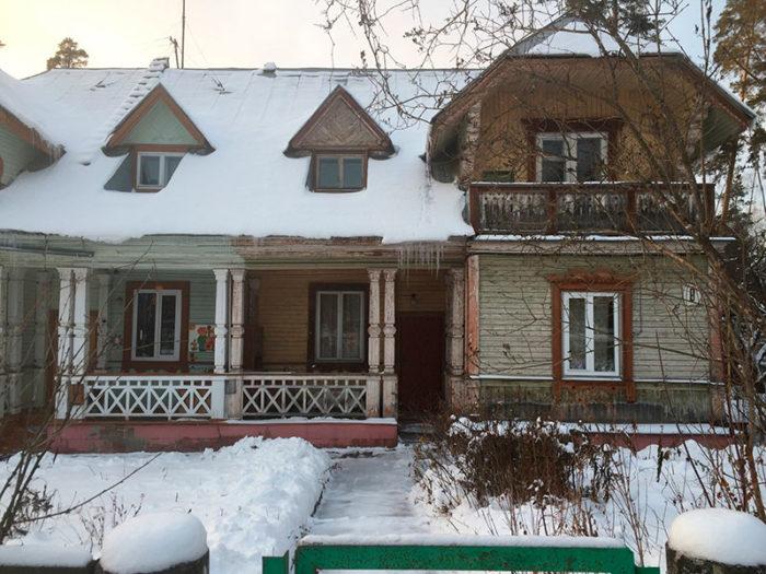 Дом академика Андрея Дмитриевича Сахарова