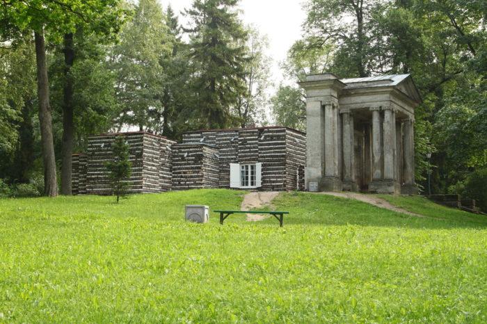 Березовый домик