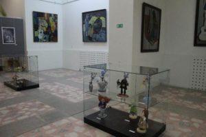 Экспонаты музея современного искусства