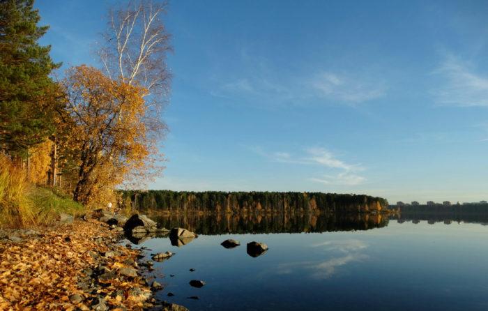Городское озеро Железногорска