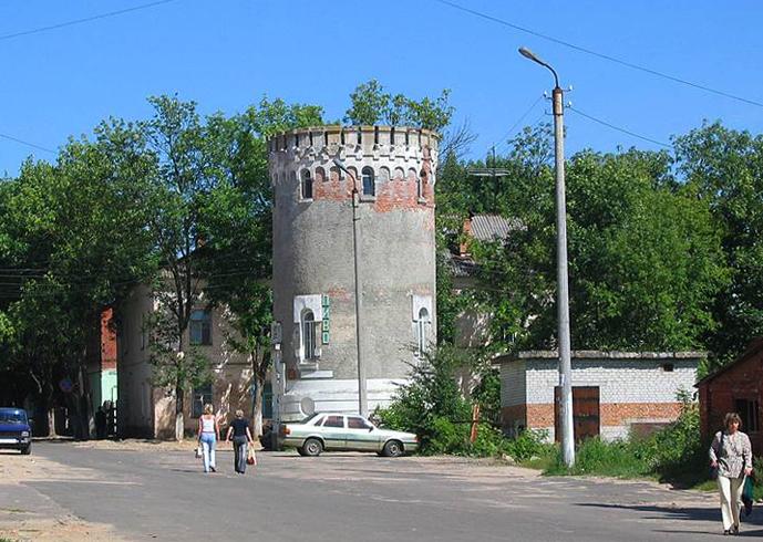 Башня водопроводная