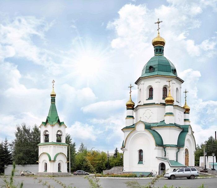 Храм-часовня святого праведного Даниила Ачинского