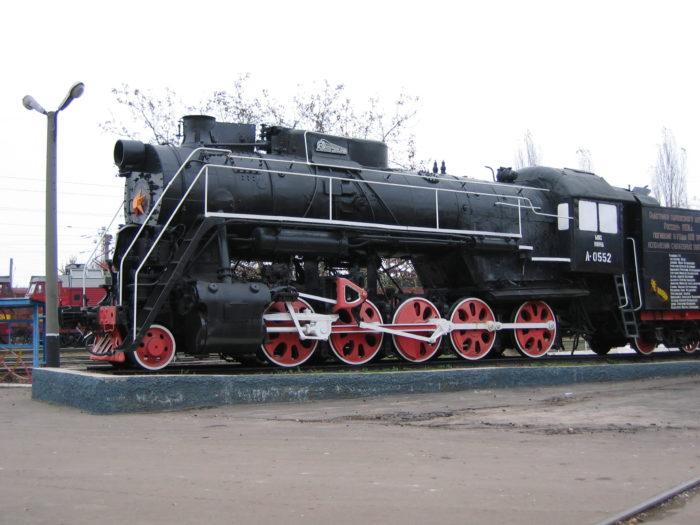 Памятник железнодорожникам, погибшим в годы войны