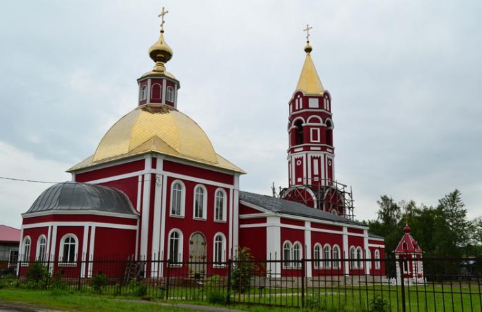 Успенский храм (Церковь Бориса и Глеба)