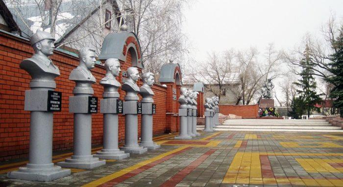 Воинский мемориал «Аллея Славы»