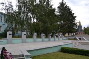 Воинский мемориал на братской могиле №277