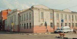 Здание бывшей мужской гимназии