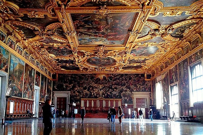 Большой зал Дворца дожей