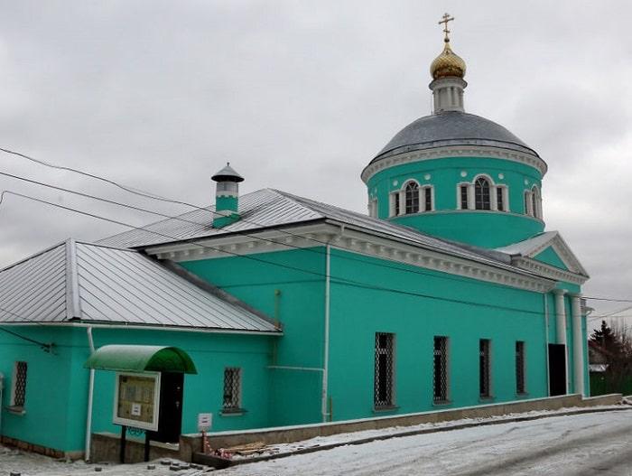 Церковь Николы Ратного в Кашире