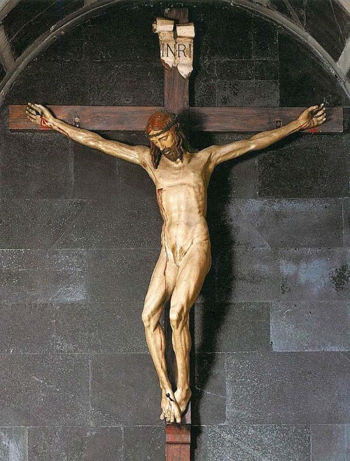 Деревянная скульптура Распятие Брунеллески