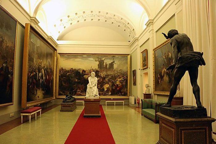 Экспонаты Палаццо Питти