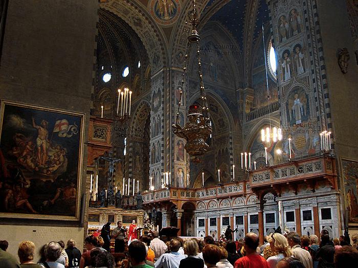 Фрески базилики святого Антонио