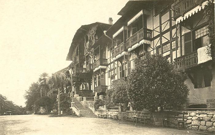 Гагра в начале ХХ века
