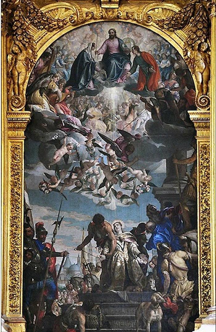 Картина «Мучения святой Джустины»