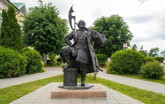 Памятник Каширскому стрелку