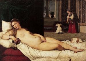 Полотно Венера Урбинская