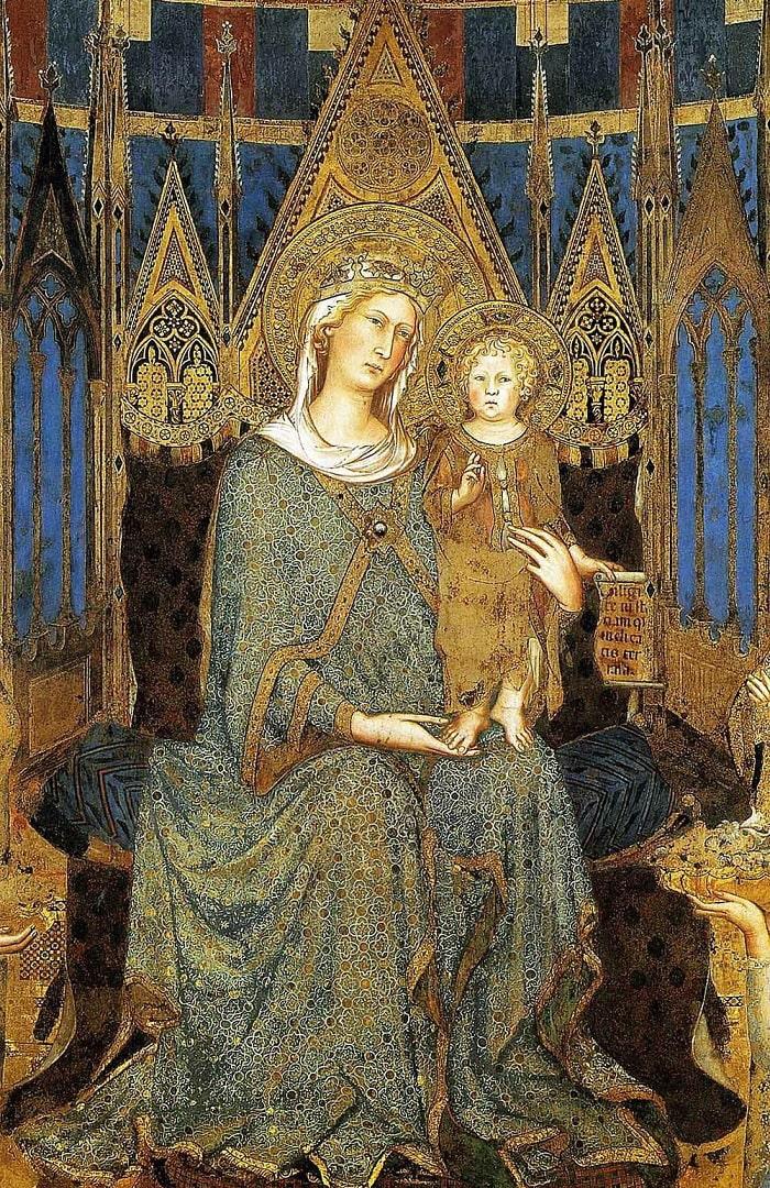 Византийская икона «Богоматерь с Младенцем»