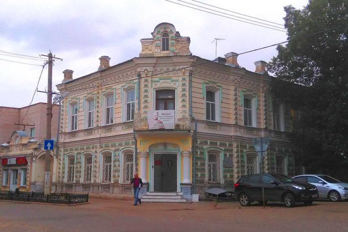 Дом кондитера Василия Вольфа