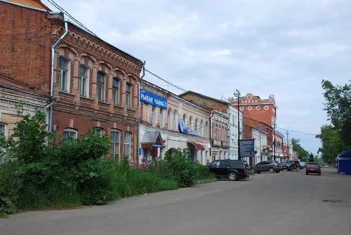 Главные улицы и проспекты Вышнего Волочка