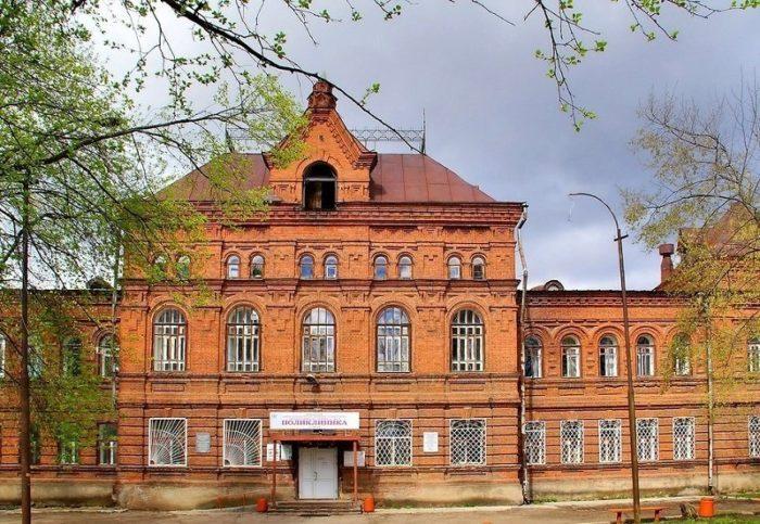 Красная больница (Горбольница, бывш. Созыкинская богадельня)