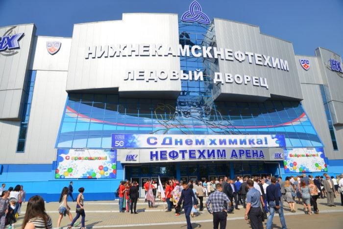 Ледовый дворец «Нижнекамскнефтехим» и прочие спортивные сооружения