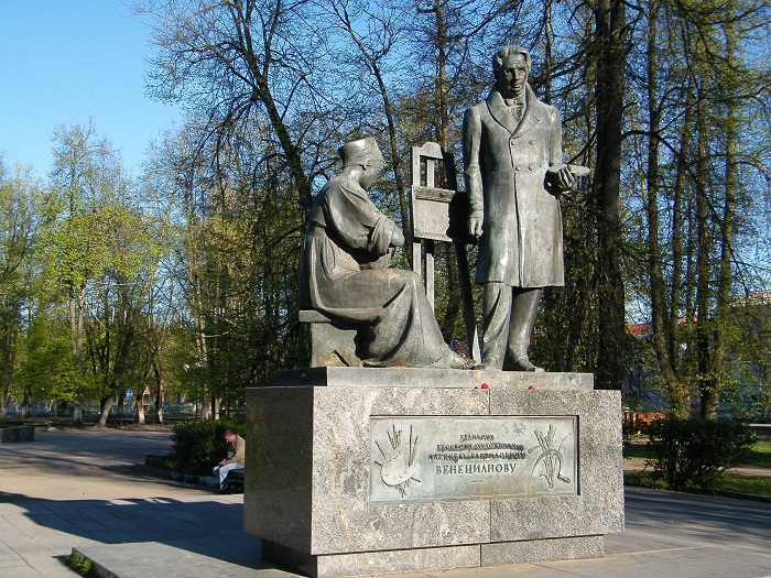 Памятник Венецианову