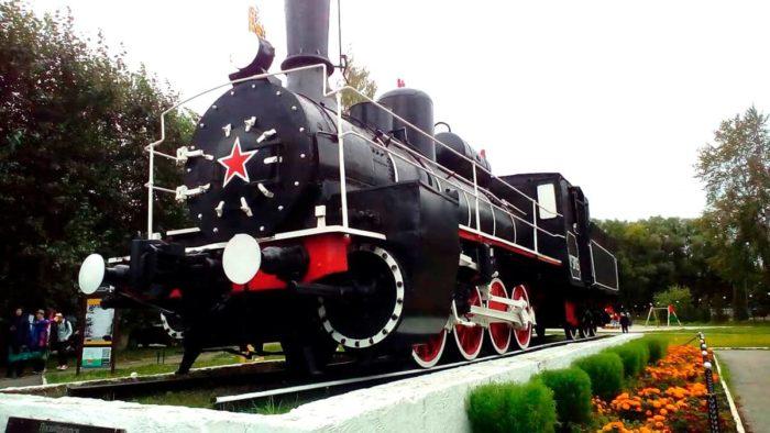 Паровоз ОВ-3705