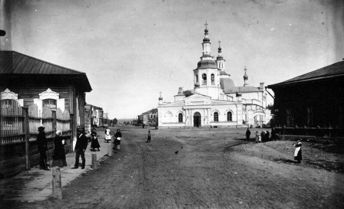 Минусинск в начале XX века