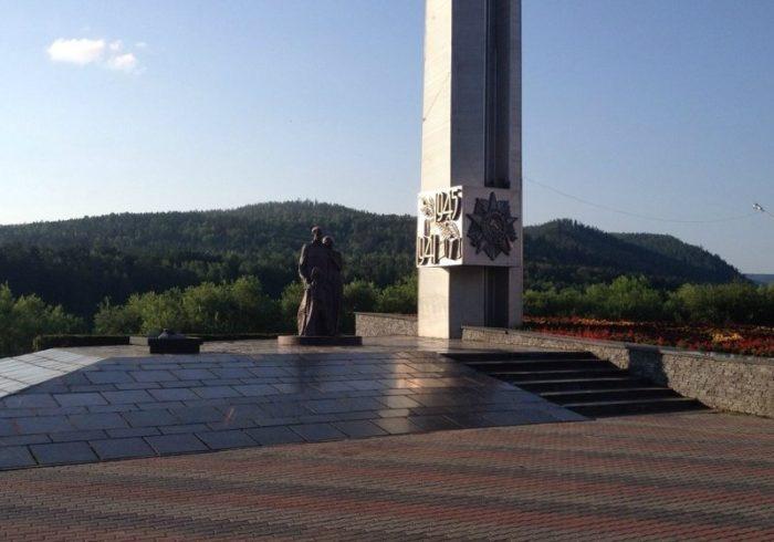 Стела погибшим в Великой Отечественной войне