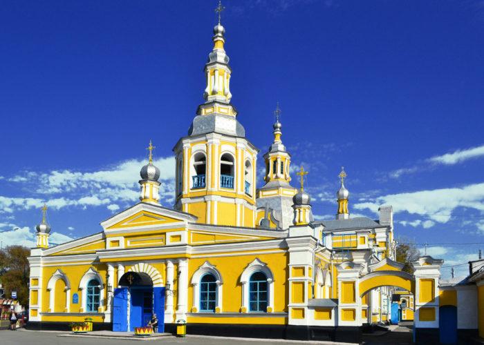 Свято-Спасский Православный храм