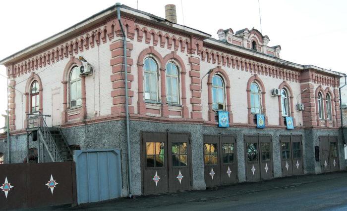 Здание добровольного пожарного общества