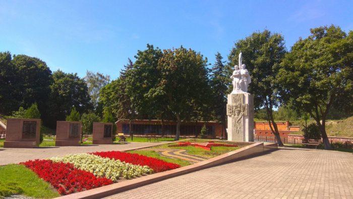 Памятник павшим при штурме Пиллау
