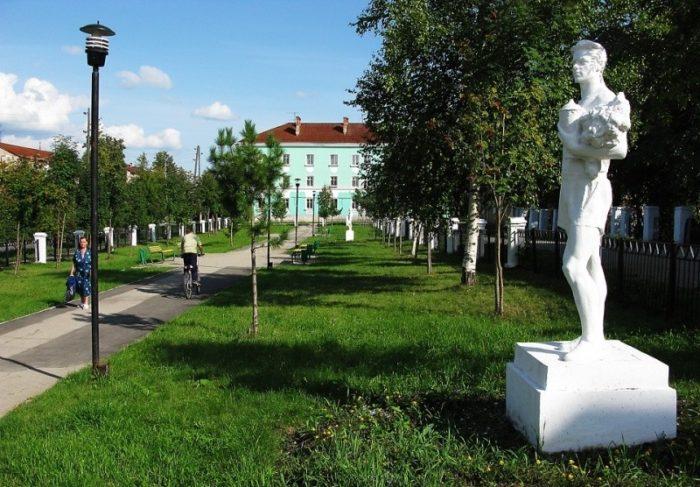 Парк советской скульптуры «Щусевский квартал»