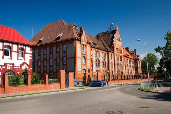Пехотные казармы (ныне Штаб базы Балтийского флота)