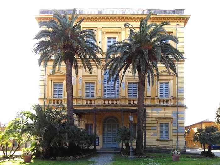 Вилла Мимбелли с музеем Фаттори