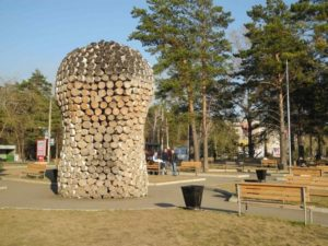 Арт-объект «Колокольня»