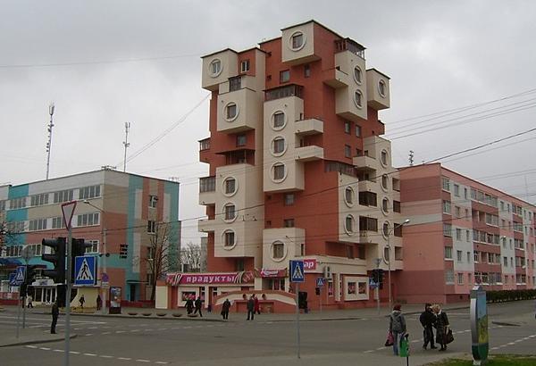 Дом-тетрис