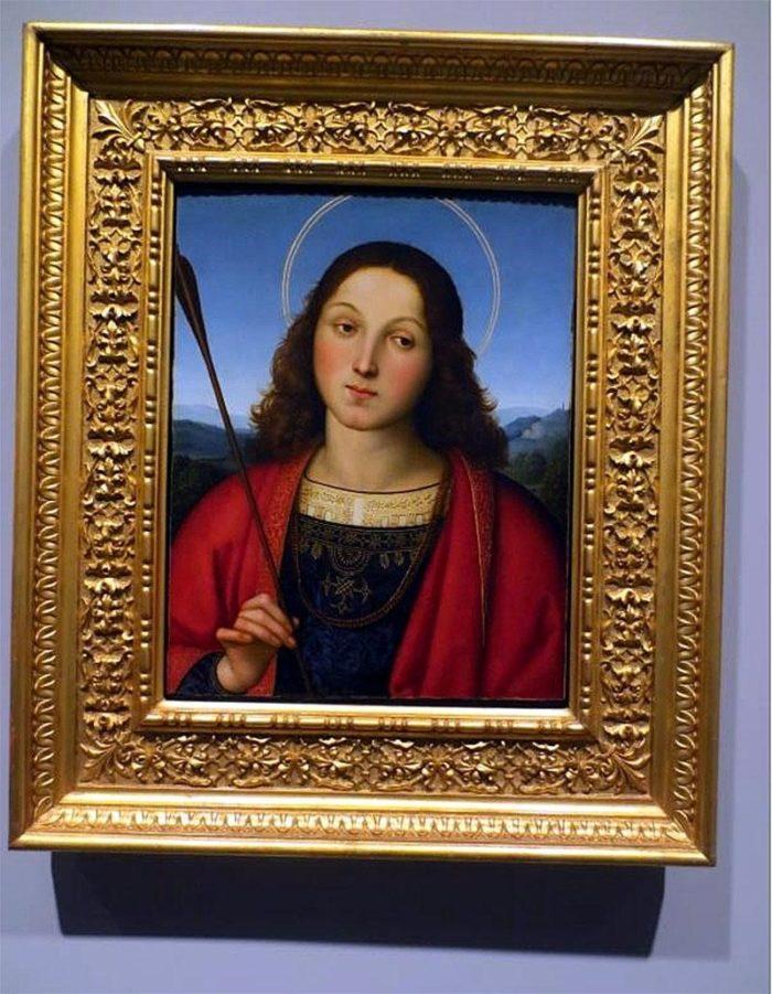 Картина Рафаэля «Святой Себастьян»