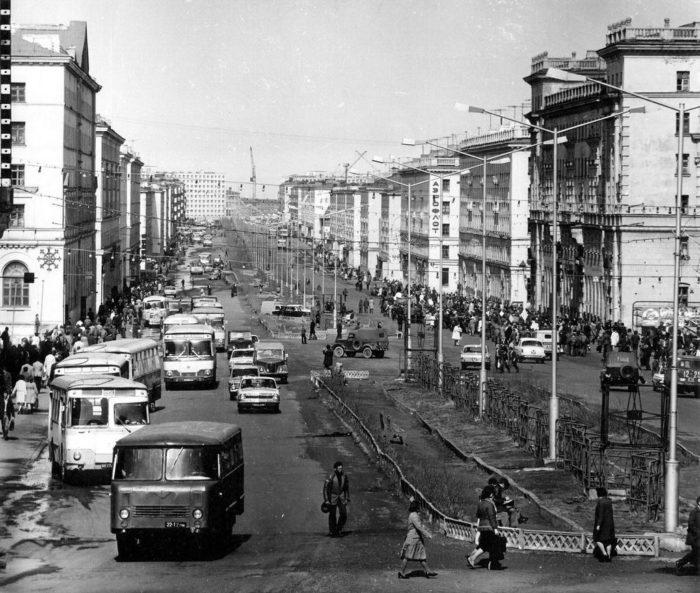 Норильск в 50-е годы ХХ века