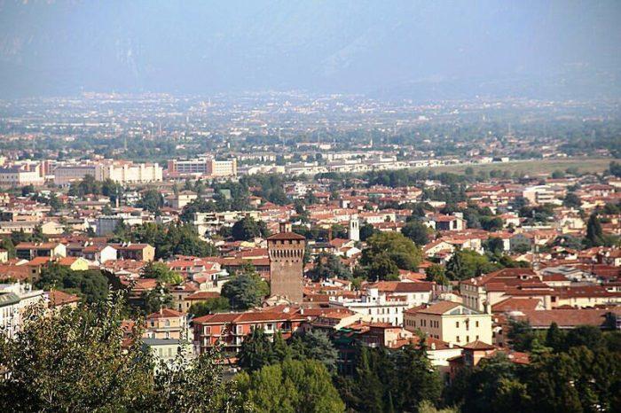 Панорама Виченцы с холма Монте-Берико