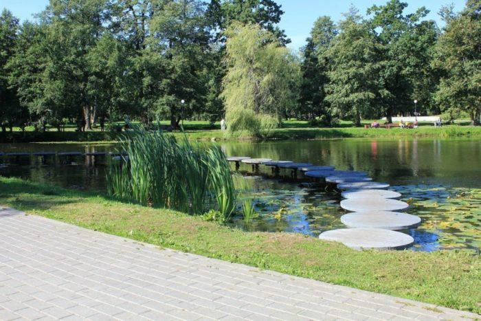 Городской парк и Тортилин пруд