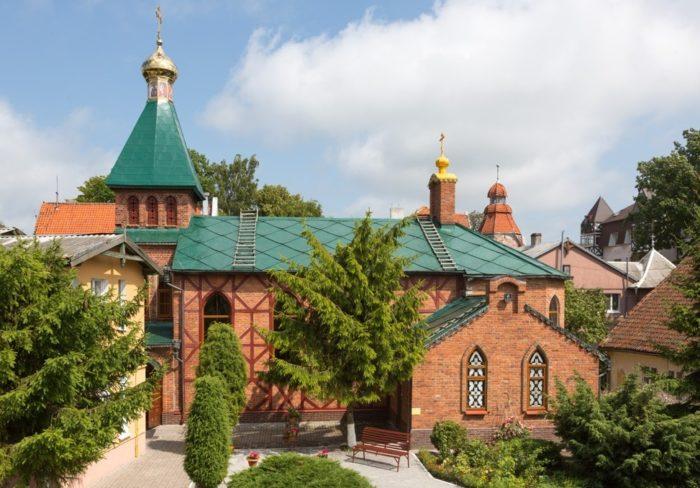 Храм Андрея Первозванного (бывшая капелла святого Андрея)