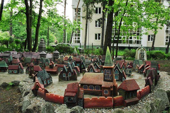 Макет средневекового Кёнигсберга